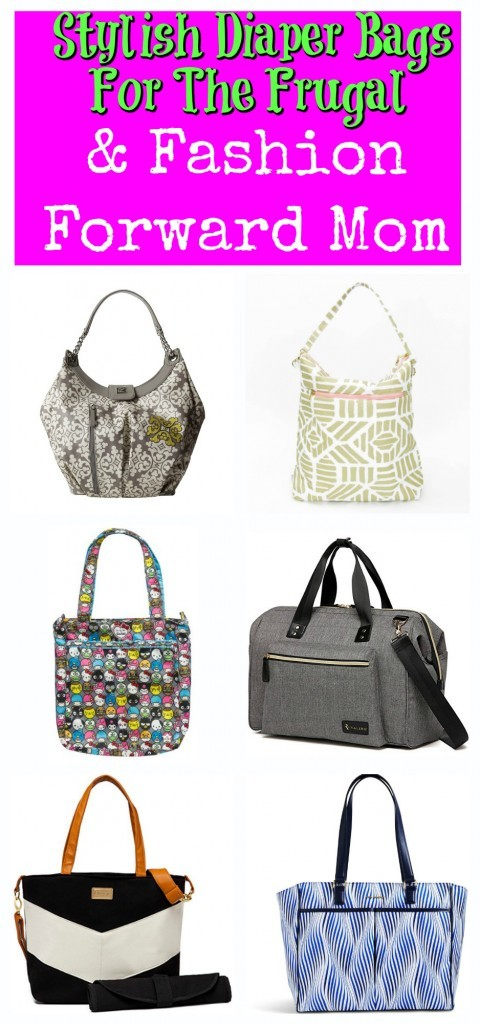 6 Stylish Diaper Bags For The Frugal & Fashion Forward Mom