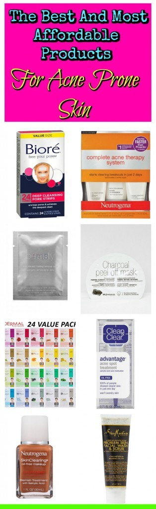 The Best And Most Affordable Products For Acne Prone Skin